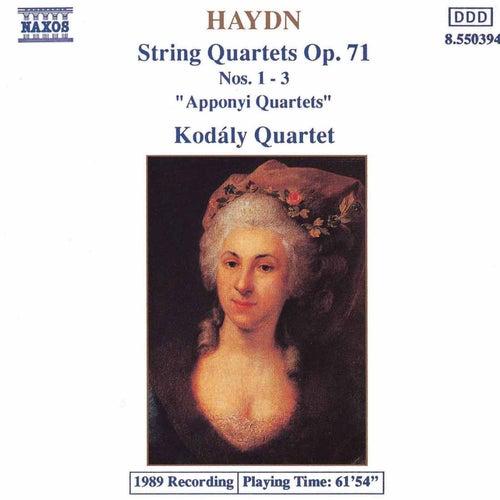 Play & Download String Quartets Op. 71, Nos. 1-3 by Franz Joseph Haydn | Napster