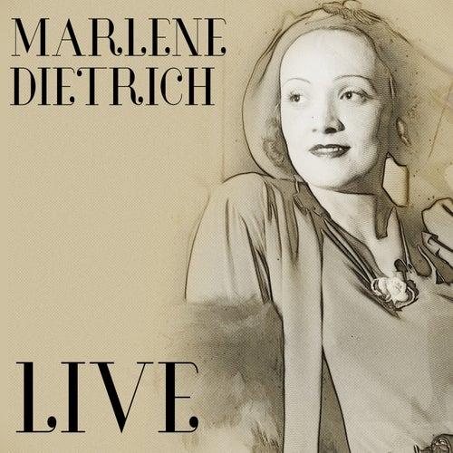 Live von Marlene Dietrich