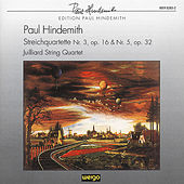 Play & Download Hindemith: String Quartet No. 3, Op. 16 - String Quartet No. 5, Op. 32 by Juilliard String Quartet | Napster