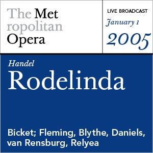 Handel: Rodelinda (January 1, 2005) by Various Artists
