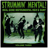Strummin´ Mental Vol.3. Real Gone Instrumental R&R & Surf von Various Artists