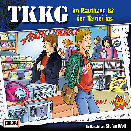 118/Im Kaufhaus ist der Teufel los von TKKG