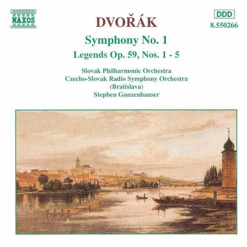Play & Download Symphony No. 1 / Legends Op. 59 by Antonin Dvorak | Napster