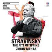 Stravinsky: The Rite Of Spring by Zubin Mehta