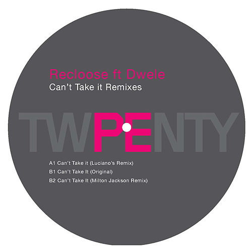 Can't Take It (Remixes) by Dwele