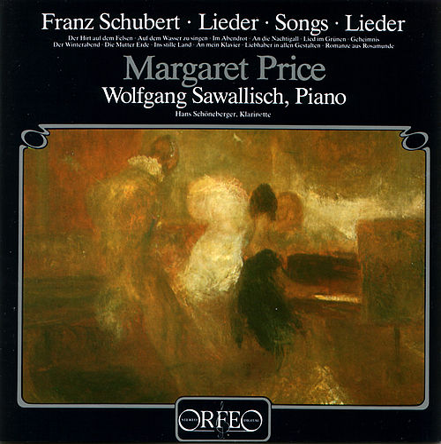 Schubert: Lieder by Margaret Price