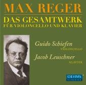 Reger: Das Gesamtwerk für Violoncello und Klavier by Guido Schiefen