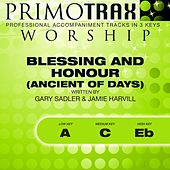 Play & Download Blessing and Honour (Ancient of Days) [Worship Primotrax] [Performance Tracks] - EP by Various Artists | Napster