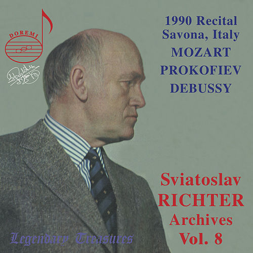 Play & Download Richter Archives, Vol. 8: 1990 Savona, Italy Recital (Live) by Sviatoslav Richter | Napster