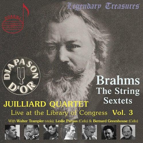 Juilliard Quartet, Vol. 3: Live at Library of Congress – Brahms Sextets by Juilliard String Quartet