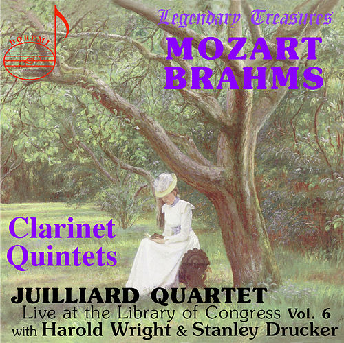 Juilliard Quartet, Vol. 6: Live at Library of Congress – Clarinet Quintets by Juilliard String Quartet