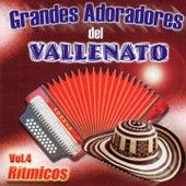 Grandes Adoradores del Vallenato, Vol. 4: Rítmicos by Various Artists