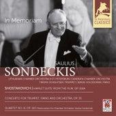 In Memoriam by Saulius Sondeckis