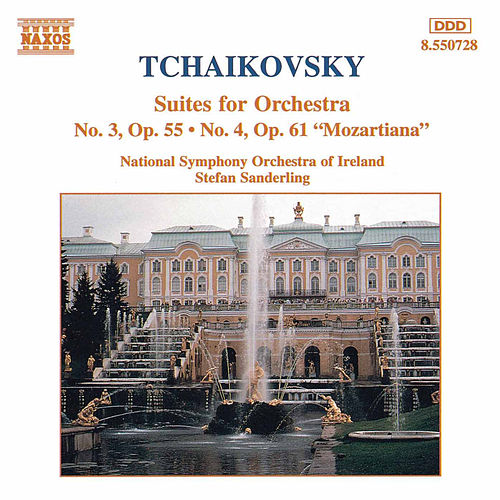 Suites for Orchestra by Pyotr Ilyich Tchaikovsky