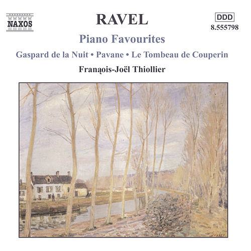 Piano Favourites by Maurice Ravel