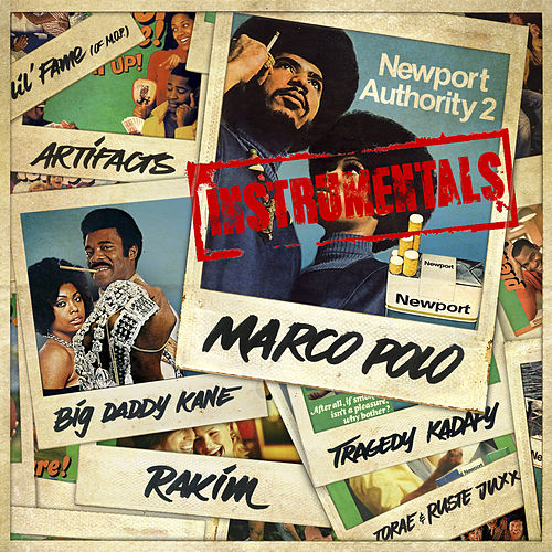 Play & Download Newport Authority 2 (Instrumental) by Marco Polo | Napster