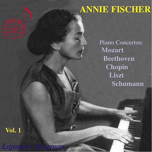 Schumann: Piano Concerto in A Minor, Op. 54, Mozart: Piano Concerto No. 24 - Annie Ficher Vol 1 by Annie Fischer