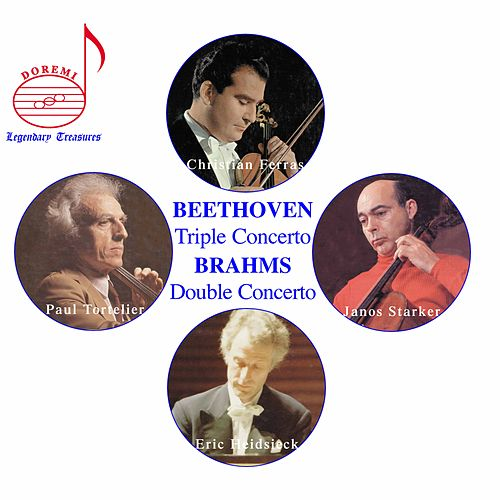 Beethoven: Triple Concerto - Brahms: Double Concerto by Christian Ferras