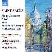 Saint-Saëns: Piano Concertos, Vol. 2 by Romain Descharmes