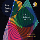 Chaconnes and Fantasias: Music of Britten and Purcell von Emerson String Quartet