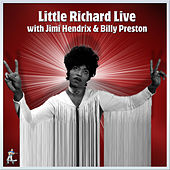 Little Richard Live featuring Billy Preston and Jimi Hendrix von Little Richard