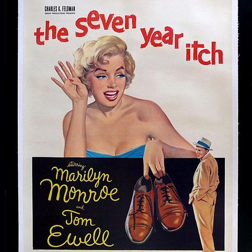 The Seven Year Itch by Marilyn Monroe