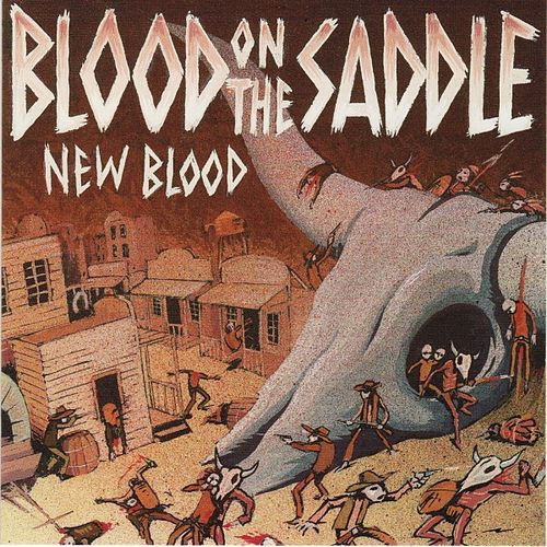 Play & Download New Blood by Blood On The Saddle | Napster
