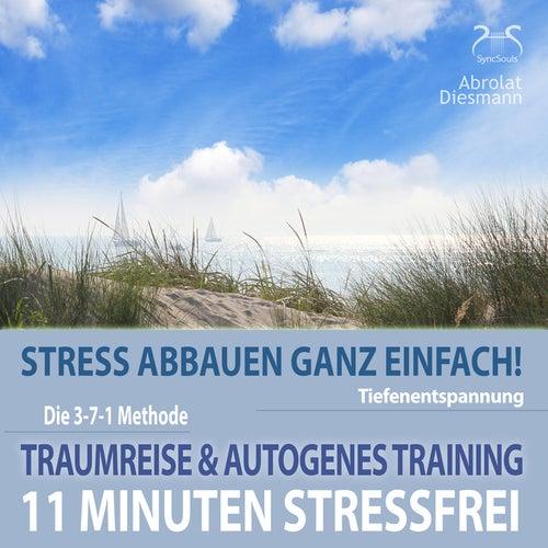 11 Minuten Stressfrei - Stress abbauen ganz einfach! Traumreise & Autogenes Training by Torsten Abrolat