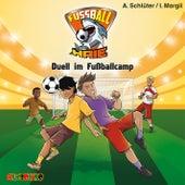 Duell im Fußballcamp - Fußball-Haie 6 von Irene Margil, Andreas Schlüter