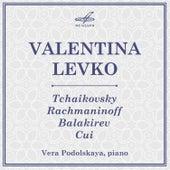 Tchaikovsky, Rachmaninoff, Balakirev, Cui: Romances - EP by Vera Podolskaya