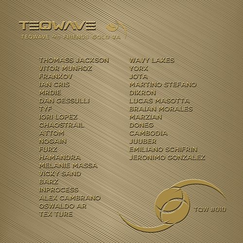 teQwave & Friends GOLD de Various