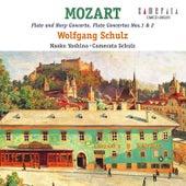 Mozart: Flute and Harp Concerto, Flute Concertos Nos.1 & 2 by Camerata Schulz