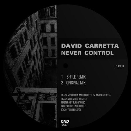 Never Control by David Carretta