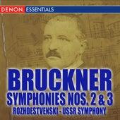 Bruckner: Symphonies Nos. 2 & 3 by Hans Zanotelli Suddeutsche Philharmonie