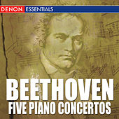 Beethoven: Piano Concertos Nos. 1 - 5 by Various Artists