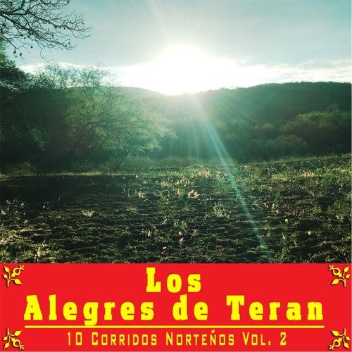 10 Corridos Norteños, Vol. 2 by Los Alegres de Teran