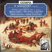 Kabalevsky: Piano Concerto No. 2, 3 & 4 by Various Artists