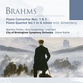 Brahms: Piano Concertos Nos. 1 & 2 . Piano Quartet No. 1 in G minor (orch. Schoenberg) by Various Artists