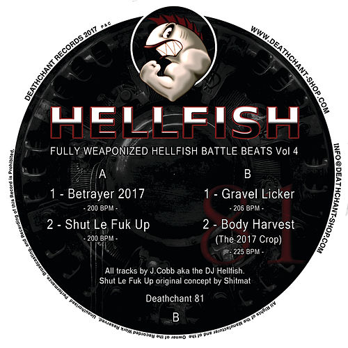 Fully Weaponized Hellfish Battle Beats Vol 4 by Hellfish