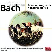 Bach: Brandenburgische Konzerte No.1-3  BWV 1046-1048; Orchestersuite BWV 1067 by Various Artists