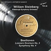 LP Pure, Vol. 36: Beethoven – Leonore Overture No. 3 & Symphony No. 4 by Pittsburgh Symphony Orchestra