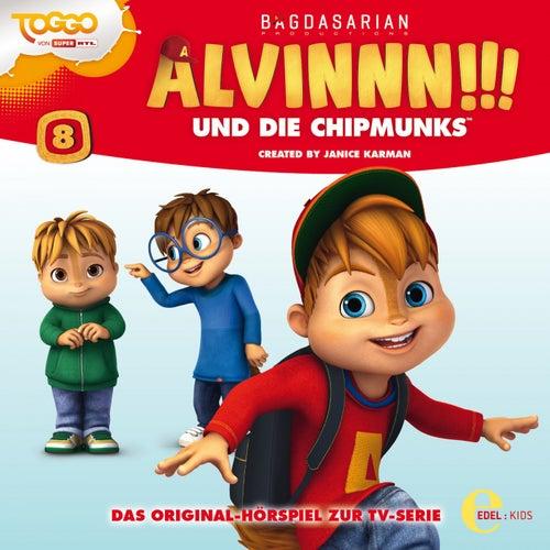 Folge 8: Superhelden (Original Hörspiel zur TV-Serie) von Alvinnn!!! und die Chipmunks