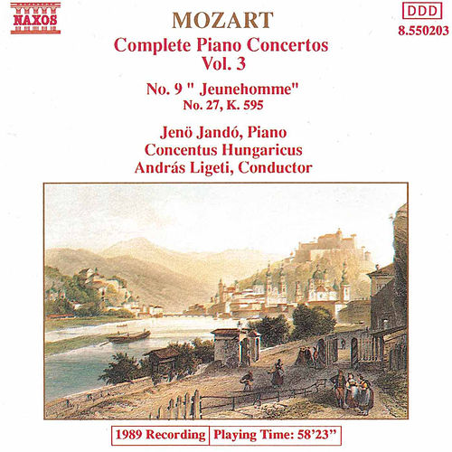 Play & Download Piano Concertos Nos. 9 and 27 by Wolfgang Amadeus Mozart | Napster