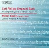 Bach: Complete Keyboard Concertos, Vol. 11 by Miklós Spányi