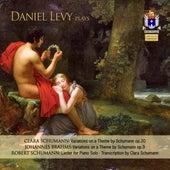 C. Schumann, Brahms & R. Schumann: Piano Works by Daniel Levy