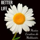 Better Life - Musica Curativa de Meditación para Relajar la Mente Reducir la Ansiedad Abrir Chakras con Sonidos Naturales Instrumentales New Age Binaurales by Yoga Music for Kids Masters