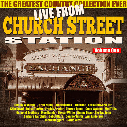 Live from Church Street Station,  Vol. 1 by Various Artists