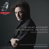 Shostakovich & Weinberg: Cello Concertos by Nicolas Altstaedt