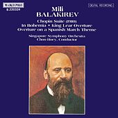 Play & Download Chopin Suite - Overtures by Mily Balakirev | Napster