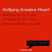 Red Edition - Mozart: Symphonies Nos. 32, 33 & Piano Concerto No. 8, K. 246 by Various Artists